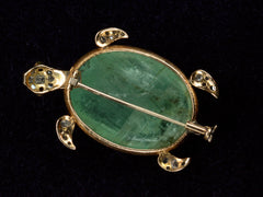 1900s Diamond & Beryl Turtle