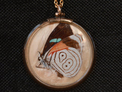 1930s Butterfly Wing Pendant