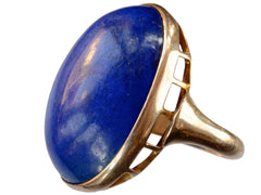 1920s Massive Lapis Ring