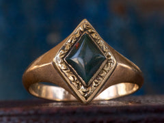 1880s Victorian Bloodstone Ring
