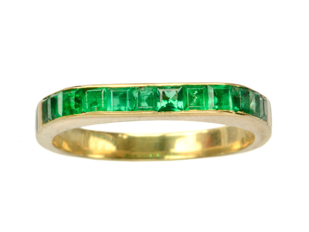 1980s Boucheron Emerald Band