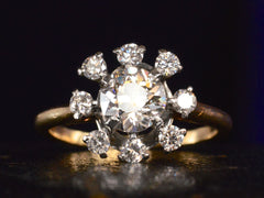 1940s Cartier Diamond Ring