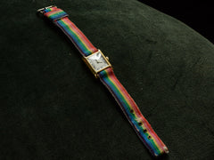 1980s Rainbow Cartier Tank Watch