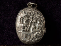 1890s Victorian Chinese Locket