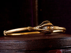 1880s Victorian Claw Bracelet