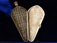 1900s Coffin-Shaped Locket