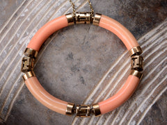1960s Chinese Coral Bracelet