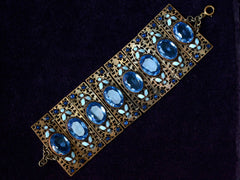 1930s Art Deco Czech Bracelet