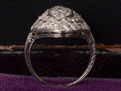 1920s Art Deco 1.90ctw Diamond Cocktail Ring