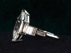 1930s Deco 1.70ct Marquise Ring