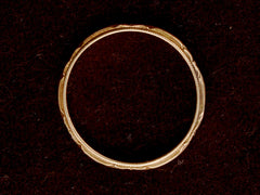 1930-40s Decorated Wedding Band