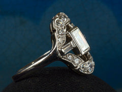 1930s Deco 0.60ct Rectangle Ring