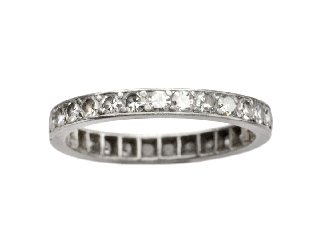1920s Art Deco Eternity Band
