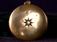 1890s Victorian Diamond Locket