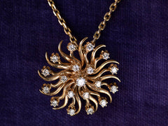 c1900 Edwardian Diamond Pendant