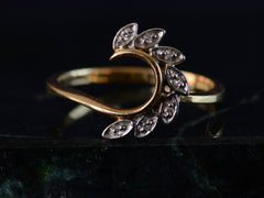 1970s Diamond Wrap Ring