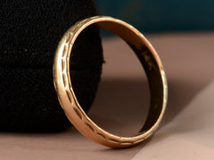 1940-50s Edged Wedding Band
