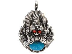1930s Dragon Pendant
