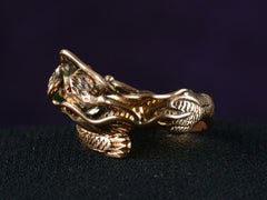1960s Jade Dragon Ring