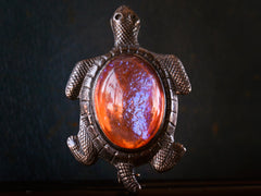 1930s Dragon's Breath Turtle Pin