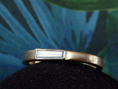 EB 0.22ct Tapered Diamond Band