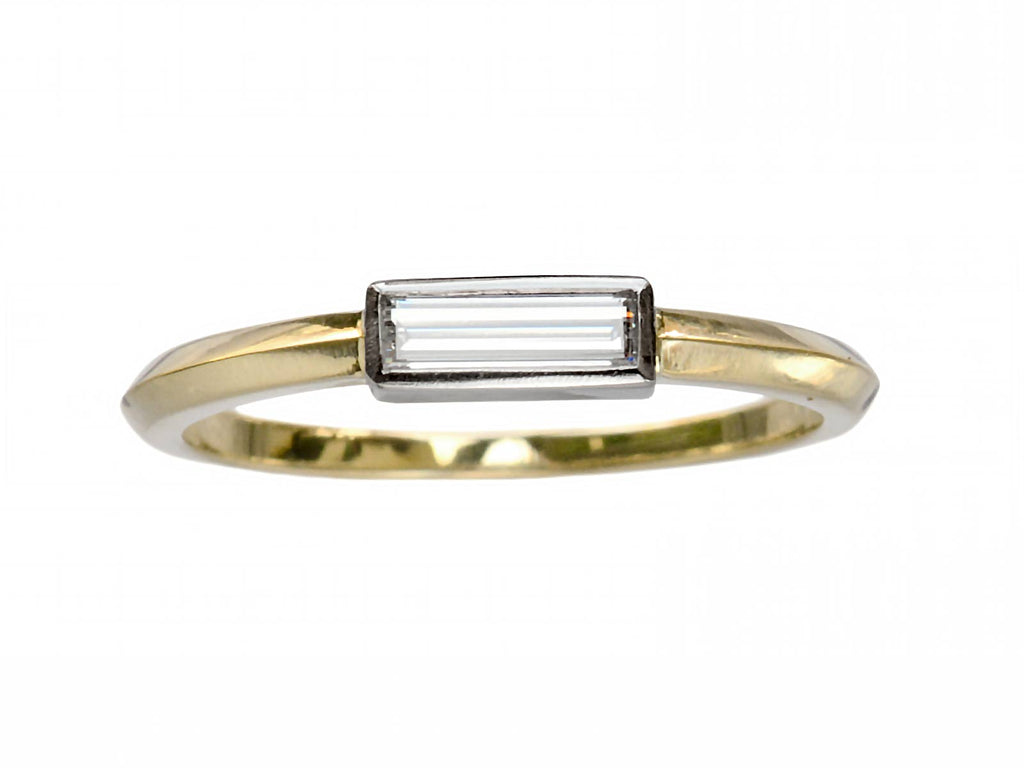 EB 0.23ct Rectangular Ring