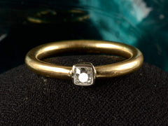 EB 0.23ct Old Mine Ring