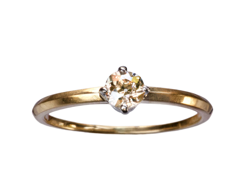 EB 0.26ct Brown Diamond Ring