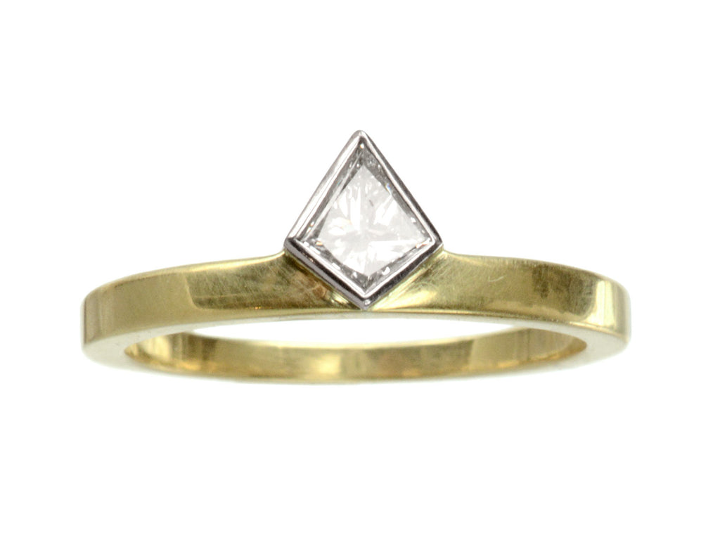 EB 0.26ct Kite Diamond Ring