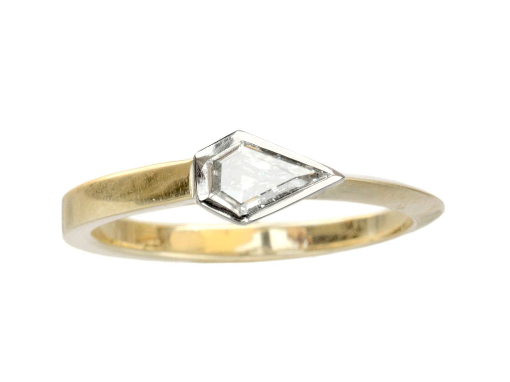 EB 0.27ct Shield Ring
