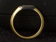 EB 0.29ct Asymmetrical Bullet Ring
