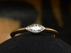 EB 0.30ct Marquise Diamond Ring