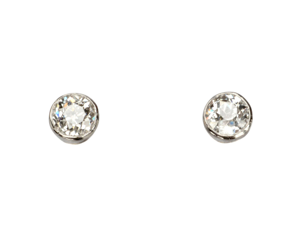EB Old Cut Diamond Studs