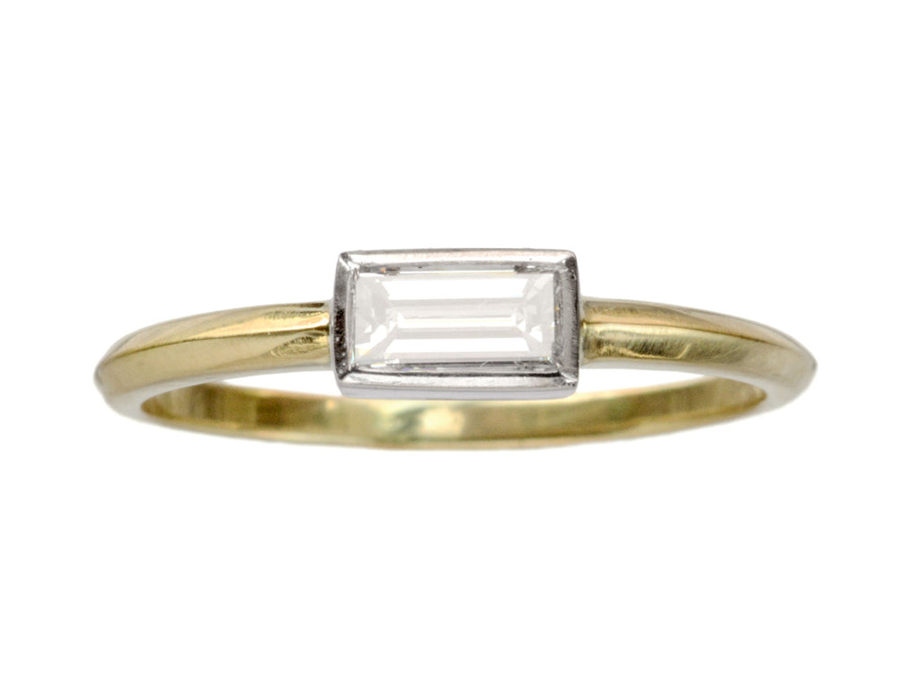 EB 0.37ct Rectangular Ring