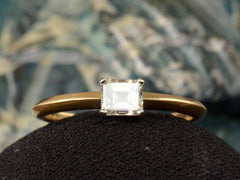 EB East-West 0.40ct Emerald Cut Diamond Engagement Ring