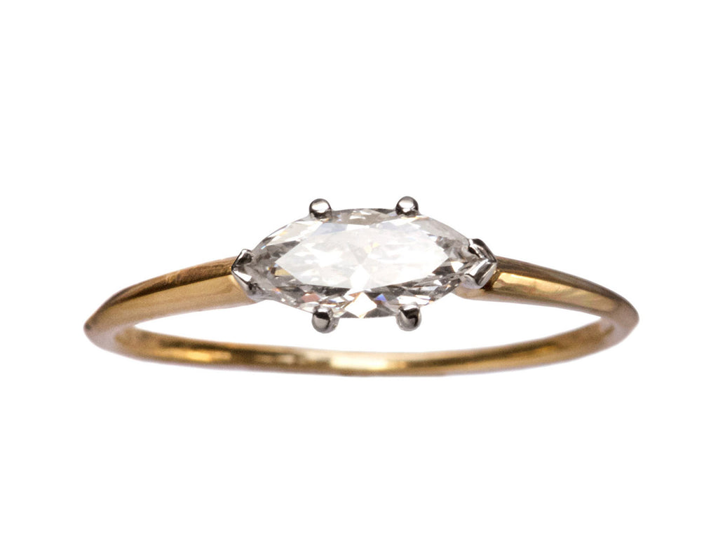 EB 0.42ct Diamond Marquise Ring