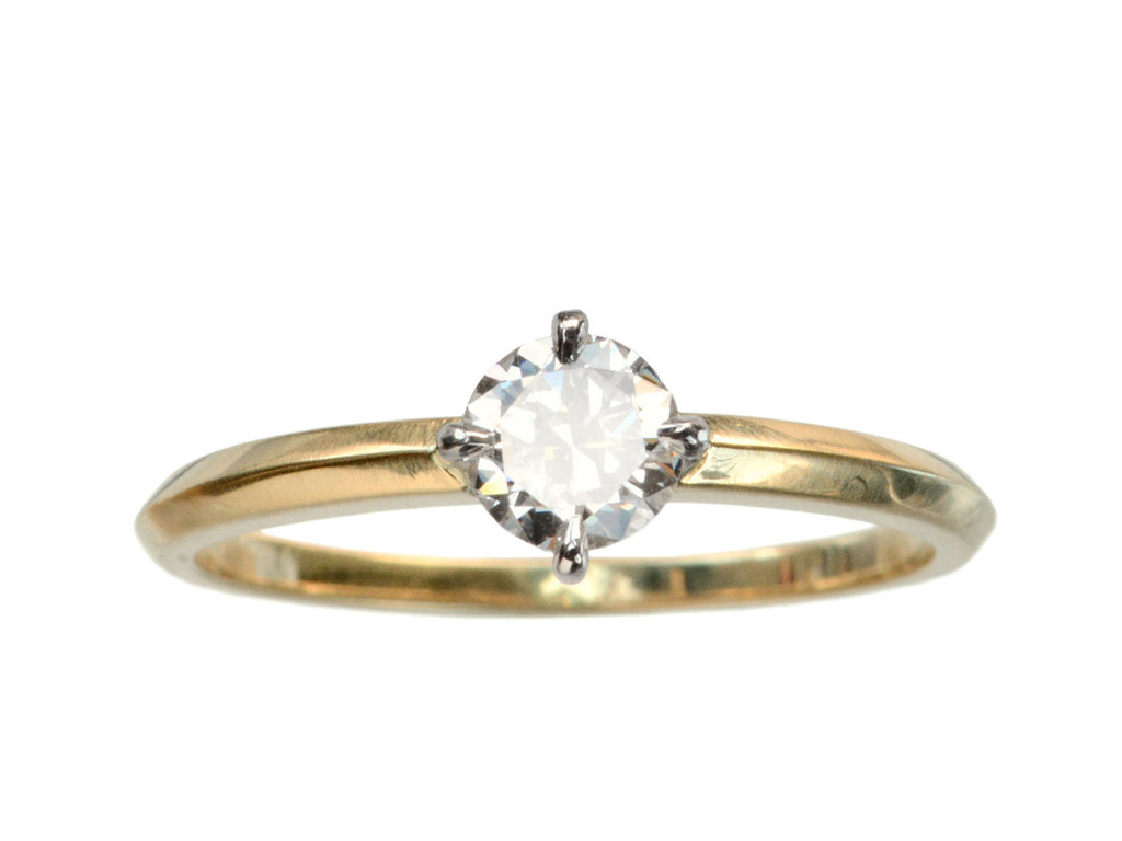 EB 0.43ct Round Diamond Solitaire Engagement Ring