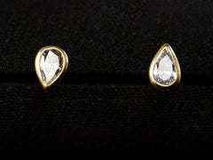 EB 0.43ctw Pear Diamond Studs