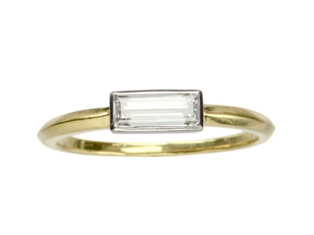 EB 0.44ct Rectangular Diamond Ring