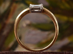 EB 0.46ct Emerald Cut Diamond Ring