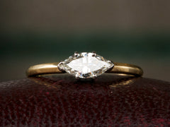 EB 0.47ct Marquise Diamond Engagement Ring