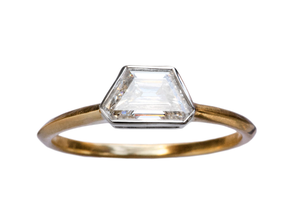 EB 0.48ct Trapezoidal Diamond Ring