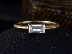 EB 0.50ct Rectangular Diamond Ring