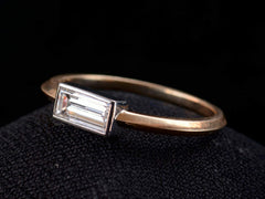 EB 0.51ct Rectangular Diamond Ring