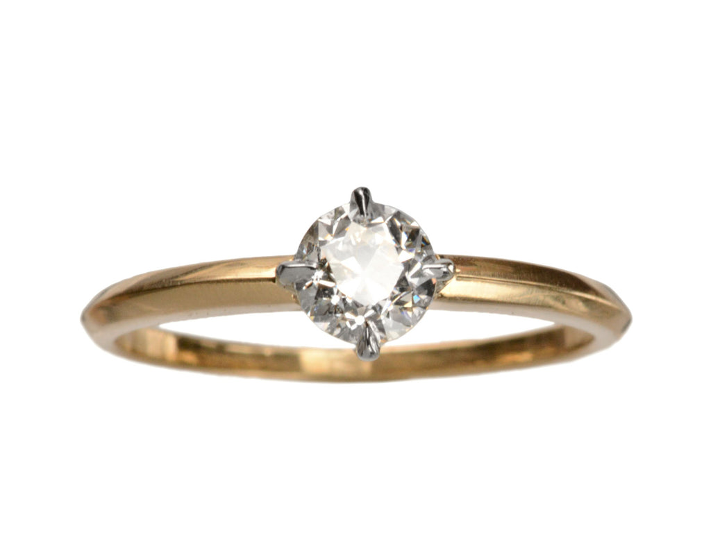 EB 0.55ct European Cut Diamond Ring