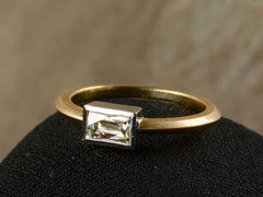 EB 0.55ct Rectangular Ring
