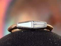 EB 0.55ctw Twin Baguette Ring