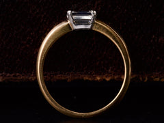 EB 0.58ct Emerald Cut Ring