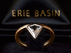 EB 0.58ct Kite Shaped Diamond Engagement Ring