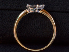 EB 0.58ct Pear Diamond Ring